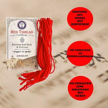 Der Kabbala rote Faden aus Israel